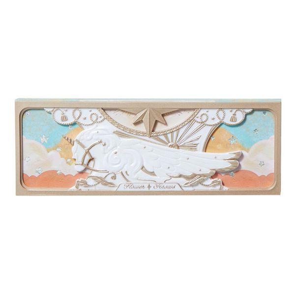 キラキラ輝くラメがかわいいフラワーノーズ『フラワーノーズ ユニコーンシリーズ アイシャドウパレット アンバーサンセット』をご紹介に関する画像12