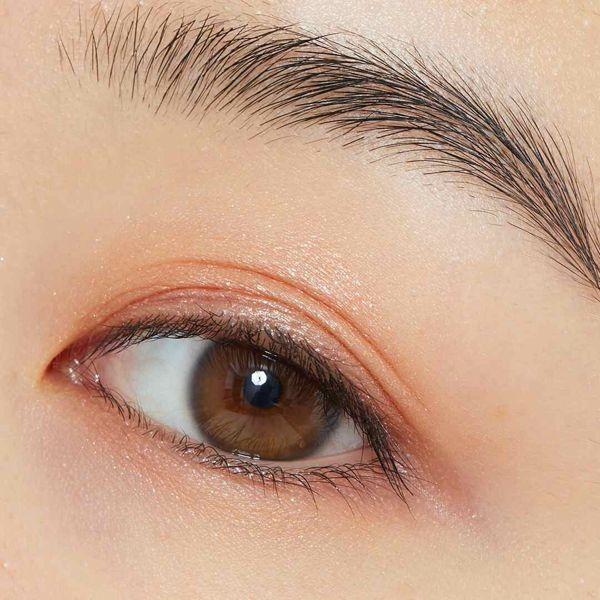 kiss(キス)『シマリングクリームアイズ 02 くすみオレンジ』の使用感をレポ!に関する画像14