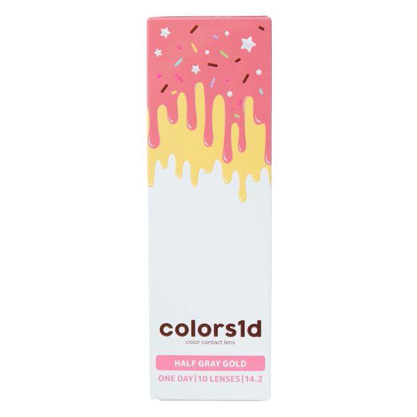 colors(カラーズ)『カラーズワンデー ハーフグレーゴールド』をレポ!に関する画像1