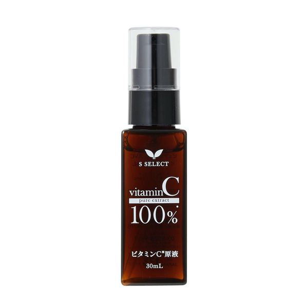 S SELECT(エスセレクト)『ビタミンC原液100%』の使用感をレポ!に関する画像4
