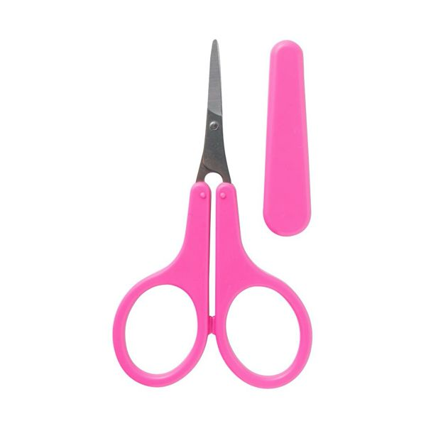 眉の形を整えたり、まつ毛のカットのに便利な S SELECT(エスセレクト)の『薄刃オシャレハサミ』をご紹介に関する画像1