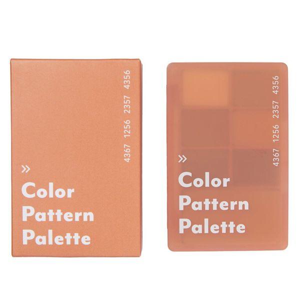 I'M MEME(アイムミミ )『カラーパターンパレット 003 サンドパターン』の使用感をレポ!に関する画像1