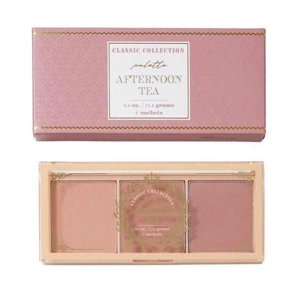 紅茶系の色味で使いやすいI'M MEME(アイムミミ)『アイム アフターヌーン ティー ブラッシャー パレット』をご紹介に関する画像4