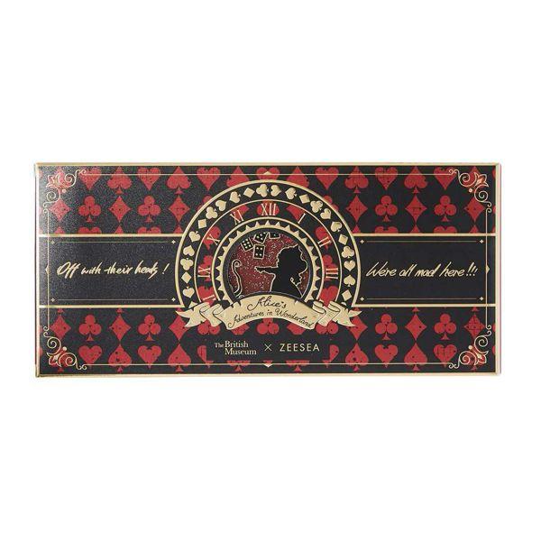 ZEESEA(ズーシー)『アリス・ドリームランド』 シリーズ12色アイシャドウパレット 01 ハートの女王の使用感をレポ!に関する画像4