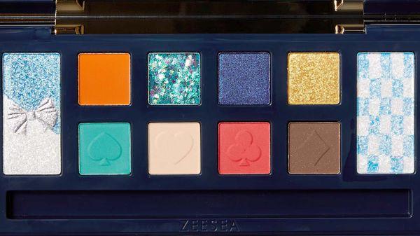 ZEESEA(ズーシー)『アリス・ドリームランド』 シリーズ12色アイシャドウパレット 02 アリスの使用感をレポ!に関する画像18
