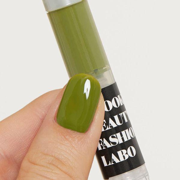 Brooklyn Beauty Fashion Labo(ブルックリンビューティーファッションラボ)『トリートメントネイルカラー グリーン』の使用感をレポ!に関する画像7