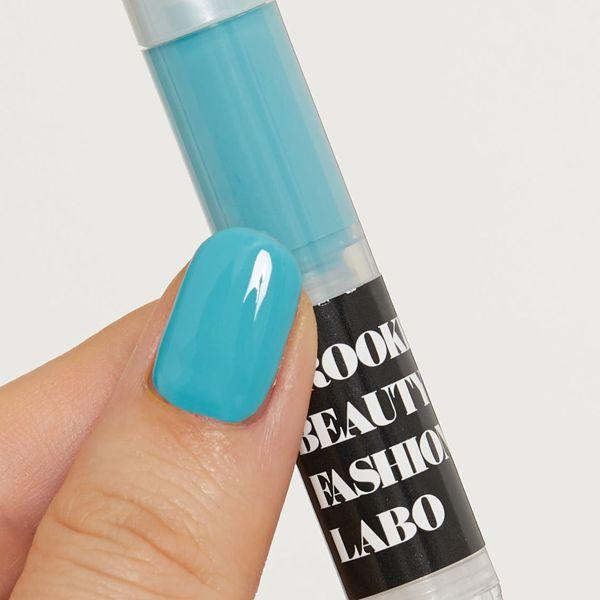 Brooklyn Beauty Fashion Labo(ブルックリンビューティーファッションラボ)『トリートメントネイルカラー ブルー』の使用感をレポ!に関する画像7