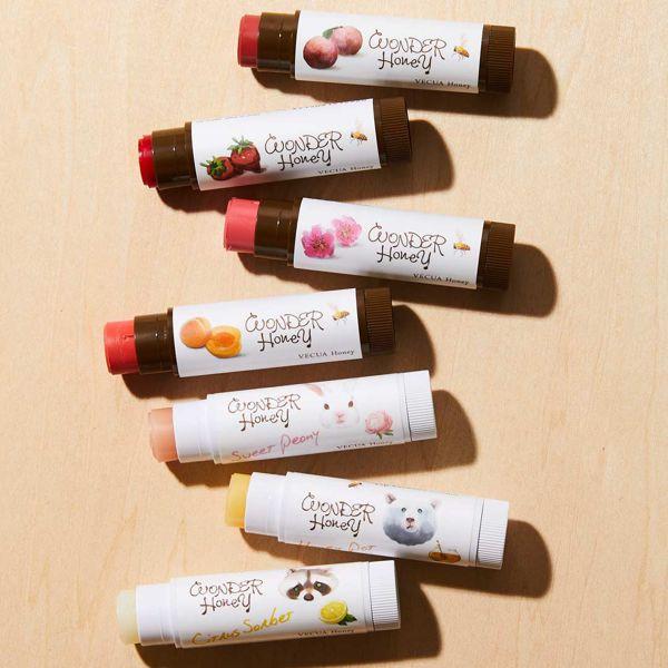 VECUA Honey(べキュアハニー)『ワンダーハニー リップエッセンスクリーム スウィートピオニー』をレポ!に関する画像1