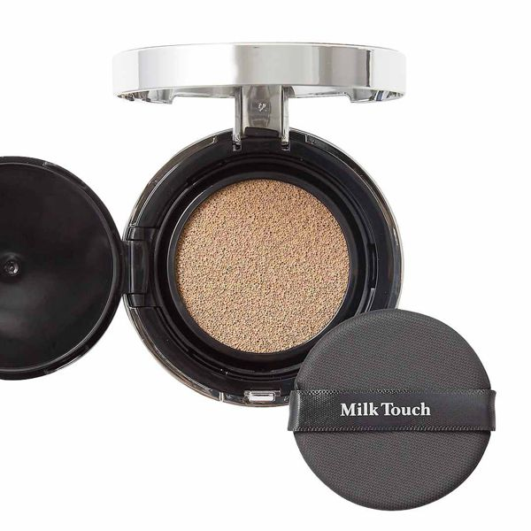Milk Touch(ミルクタッチ)『ファインドザ リアルカバークッション 02 ライトベージュ』の使用感レポ!に関する画像7