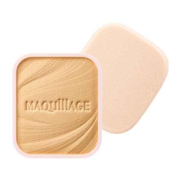 MAQuillAGE(マキアージュ)『ドラマティックパウダリー EX ベージュオークル10 黄みよりでやや明るめ』の使用感をレポ!に関する画像1