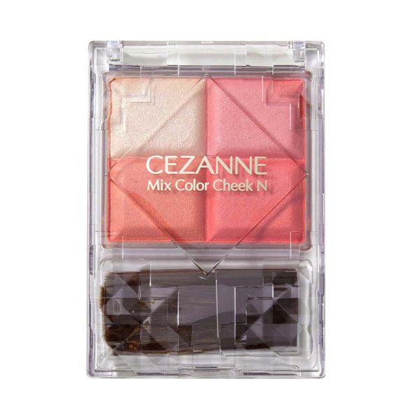 CEZANNE(セザンヌ)『ミックスカラーチークN 02 ピュアコーラル』の使用感レポ!に関する画像7