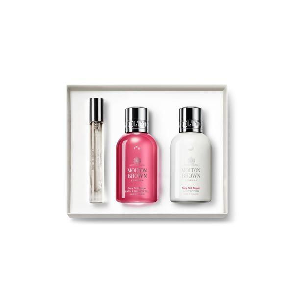 フレッシュなのに官能的な香り。限定ギフトMOLTON BROWN(モルトンブラウン)『ピンクペッパー フレグランス コレクション』の使用感をレポに関する画像4