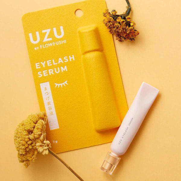 UZU BY FLOWFUSHI(ウズ バイ フローフシ)『まつげ美容液(まつげ・目もと美容液)』の使用感をレポに関する画像1