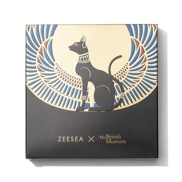 エキゾチックなカラーが勢ぞろい♡ ZEESEA (ズーシー)『エジプトシリーズ アイシャドウパレット 01 アンダーソンの猫 』の使用感をレポに関する画像4