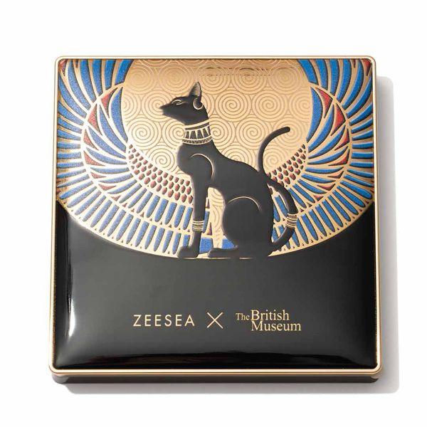 エキゾチックなカラーが勢ぞろい♡ ZEESEA (ズーシー)『エジプトシリーズ アイシャドウパレット 01 アンダーソンの猫 』の使用感をレポに関する画像11