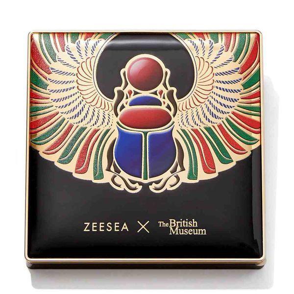 ワインカラーが深みのあるメイクを叶えてくれる♡ ZEESEA(ズーシー)『エジプトシリーズ アイシャドウパレット 02 スカラベ』の使用感をレポに関する画像4