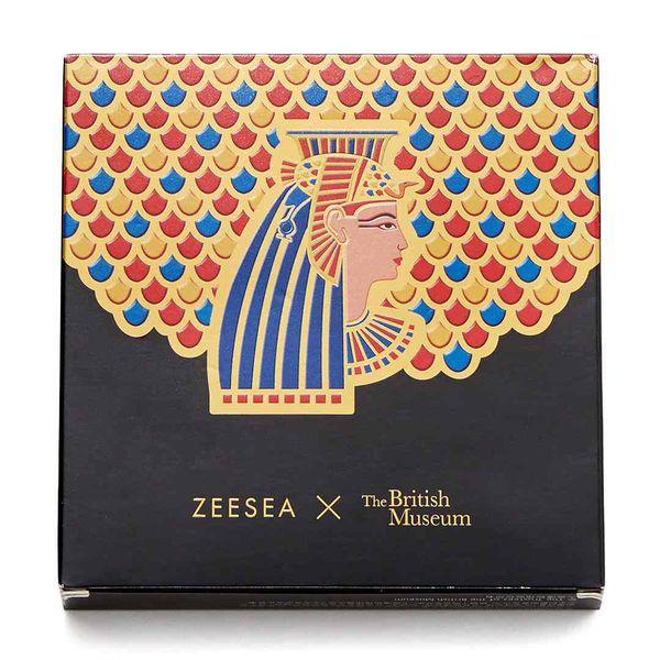 星型のラメが可愛すぎる♡ ZEESEA(ズーシー)『エジプトシリーズ アイシャドウパレット 03 クレオパトラ』の使用感をレポに関する画像1