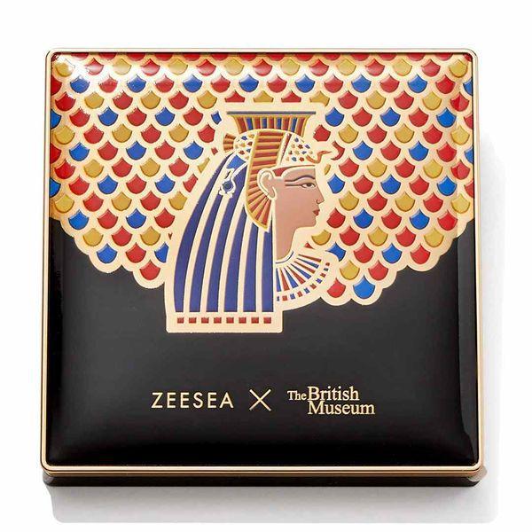星型のラメが可愛すぎる♡ ZEESEA(ズーシー)『エジプトシリーズ アイシャドウパレット 03 クレオパトラ』の使用感をレポに関する画像11