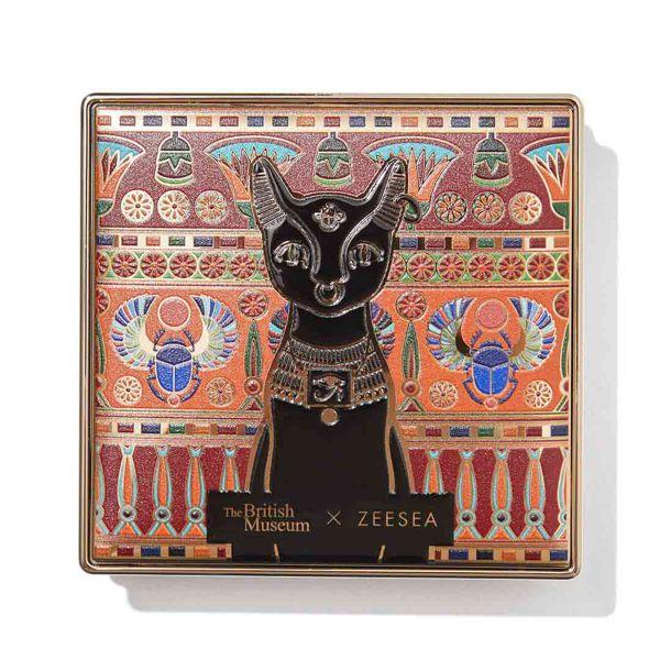 ZEESEA(ズーシー)『大英博物館 エジプトシリーズ パウダーファンデーション AH01 アイボリーホワイト』を徹底レポに関する画像4