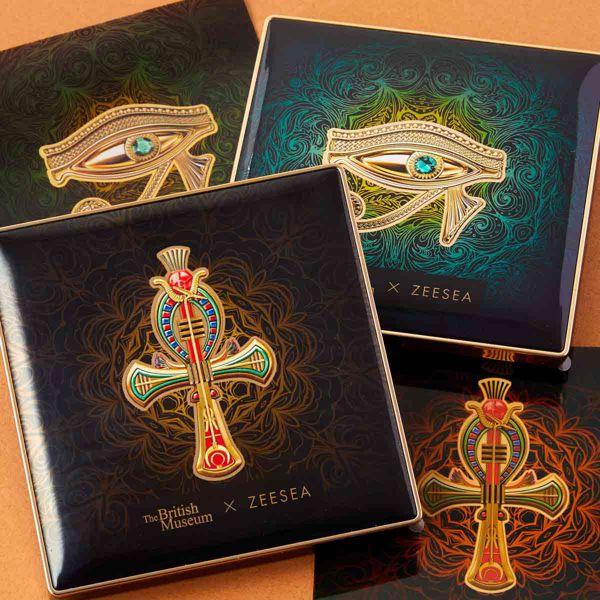 ZEESEA(ズーシー)『エジプトシリーズ アイシャドウパレット 06 ホルスの目』の使用感をレポ!に関する画像1