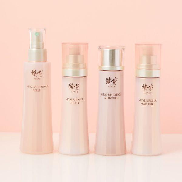 年齢を重ねたお肌を美しくケアする、綾花 『バイタル アップ ミルク モイスチャー』の使用感をレポに関する画像1