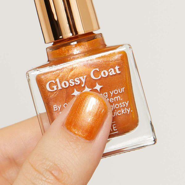明るくヘルシーなオレンジカラーのSQUSE ME(スキューズミー)『スキューズミー グロッシーコート マジョリカオレンジ』をご紹介に関する画像7