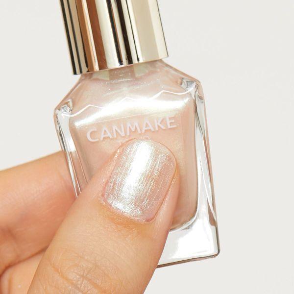 塗りやすくてツヤ感や速乾性が好評なCANMAKE(キャンメイク)『カラフルネイルズ N49 オパールピンク』をご紹介に関する画像7