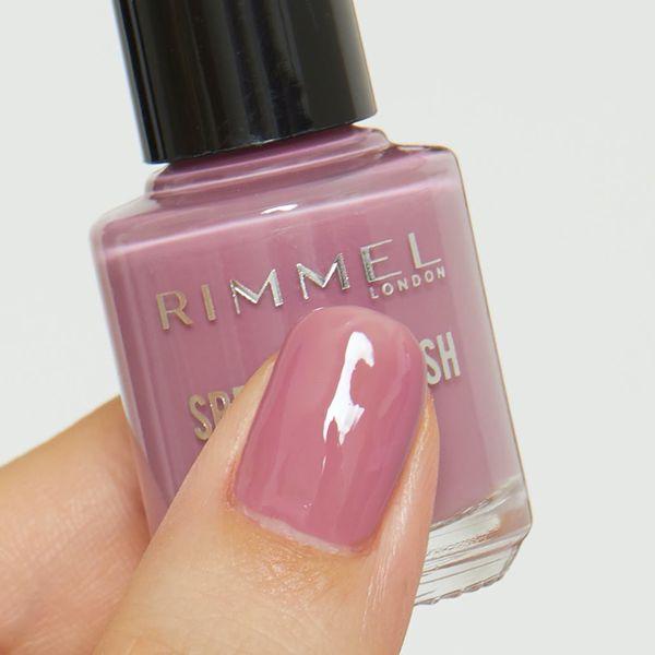 甘くなりすぎないピンクカラーのリンメル『スピーディ フィニッシュ N 814 グレイッシュローズ』をご紹介に関する画像7