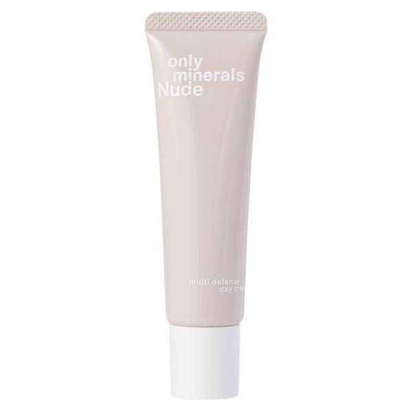 淡いピンク色で明るい肌に仕上げるONLYMINERALS(オンリーミネラル)『Nude マルチディフェンスデイクリーム』をご紹介に関する画像4