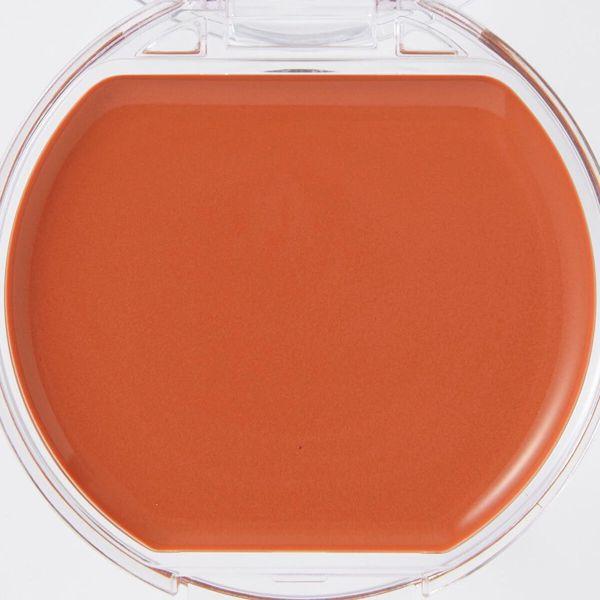 CANMAKE(キャンメイク)『クリームチーク 21 タンジェリンティー』の使用感をレポに関する画像9