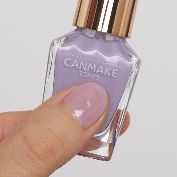 CANMAKE(キャンメイク)『ファンデーションカラーズ 03 シアーライラック』の使用感をレポに関する画像7