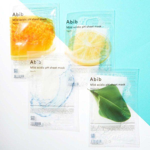 Abib(アビブ)『マイルド アシディック pH シートマスク ドクダミ』の使用感をレポに関する画像1