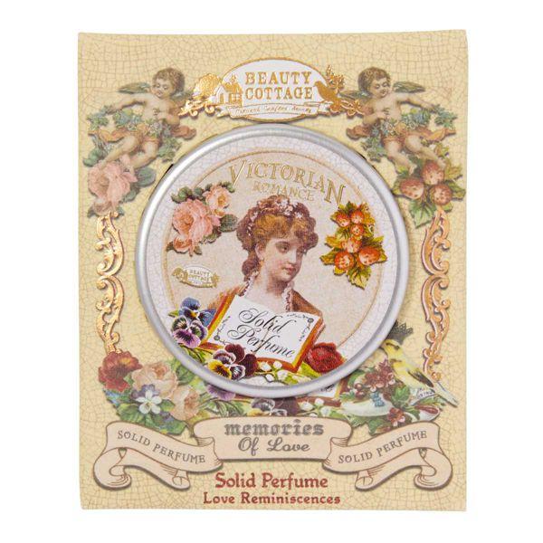 Beauty Cottage(ビューティーコテージ)『ビクトリアンロマンス メモリーオブラブ ソリッド パフューム BC102 メモリーオブラブ』の使用感をレポに関する画像4