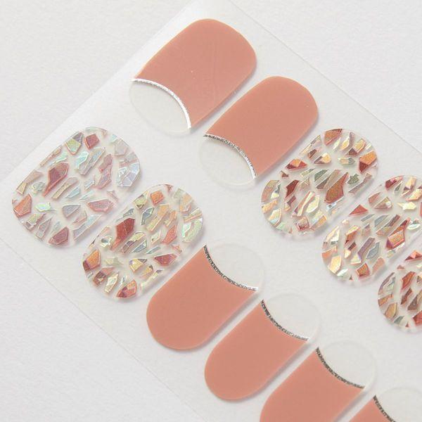 CCPORAPORA(カラーチェンジポラポラ)『カラーチェンジジェルネイルシール  BBM-0021』の使用感をレポ!に関する画像4