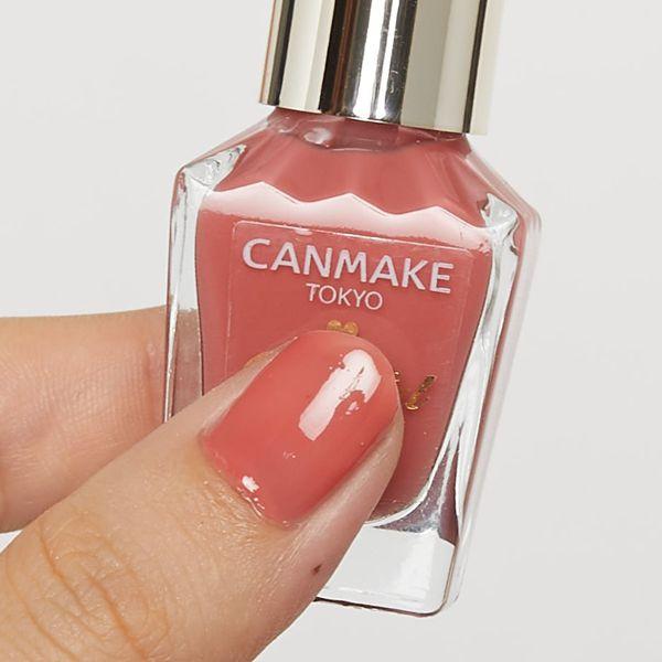CANMAKE (キャンメイク) 『カラフルネイルズ N51 コーラルピンク』の使用感をレポに関する画像4