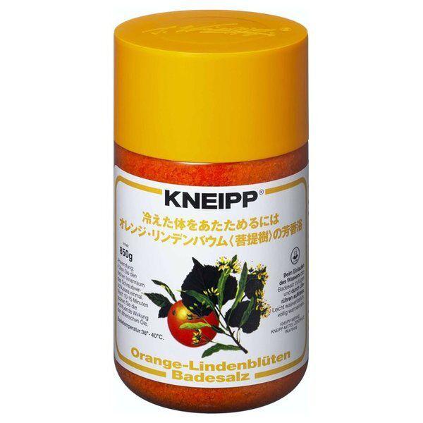 オレンジのフレッシュな香りのKneipp(クナイプ)『クナイプ バスソルト オレンジ・リンデンバウム<菩提樹>の香り』の使用感をレポに関する画像1