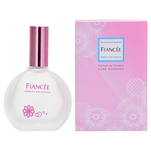 柔らかな甘い香りが続くFIANCEE(フィアンセ)『パルファンドトワレ ピュアシャンプー』のご紹介に関する画像1