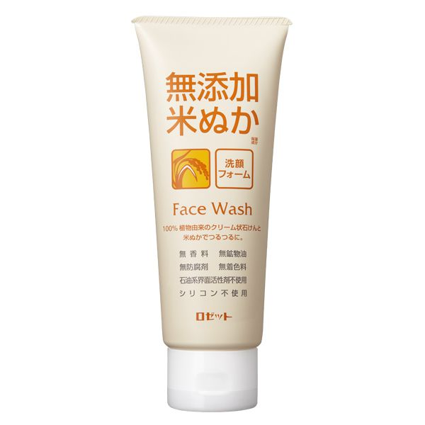 キメを美しく整え、洗い上がりはつるつるなROSETTE(ロゼット)『無添加米ぬか 洗顔フォーム』をレポ!に関する画像1