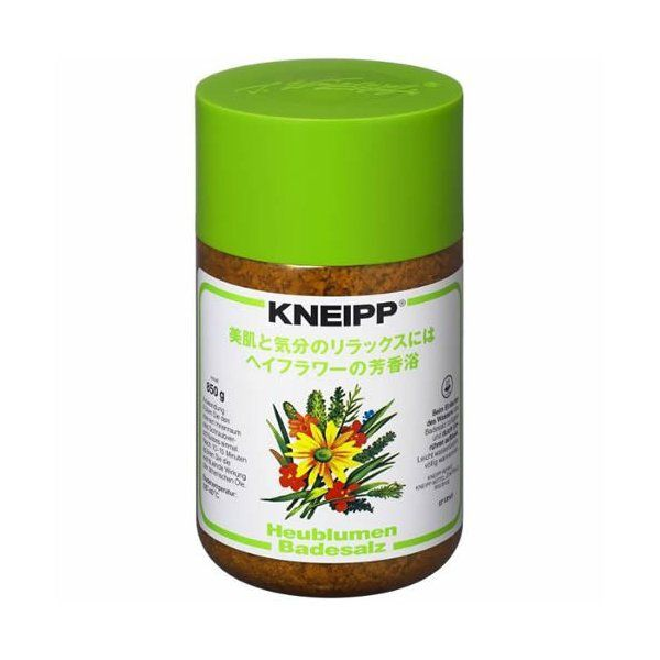 ヘイフラワーの香りでリラックスタイム! Kneipp(クナイプ)『クナイプ バスソルト ヘイフラワーの香り』をレポに関する画像1