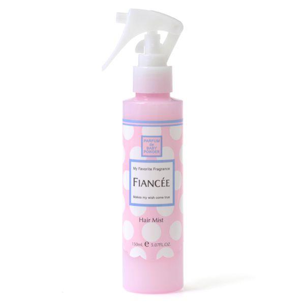 ワンプッシュでやさしく香るツヤ髪に!FIANCEE(フィアンセ)『フレグランスヘアミスト ベビーパフパフ』をご紹介に関する画像1