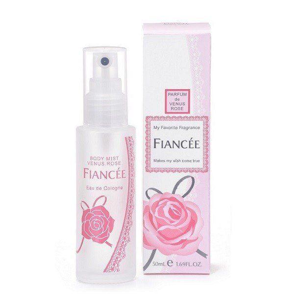 優雅で色っぽい香りのFIANCEE(フィアンセ)『ボディミスト ヴィーナスローズ』をご紹介に関する画像1