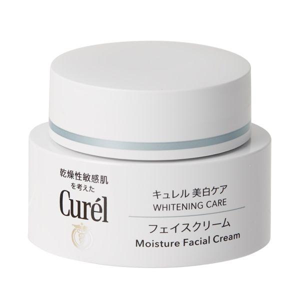 Curél(キュレル)『キュレル 美白ケア フェイスクリーム』の使用感をレポ!に関する画像4