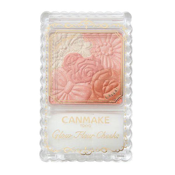 華やかで花束のようなCANMAKE(キャンメイク)『グロウフルール チークス 03 フェアリーオレンジフルール』をご紹介に関する画像4