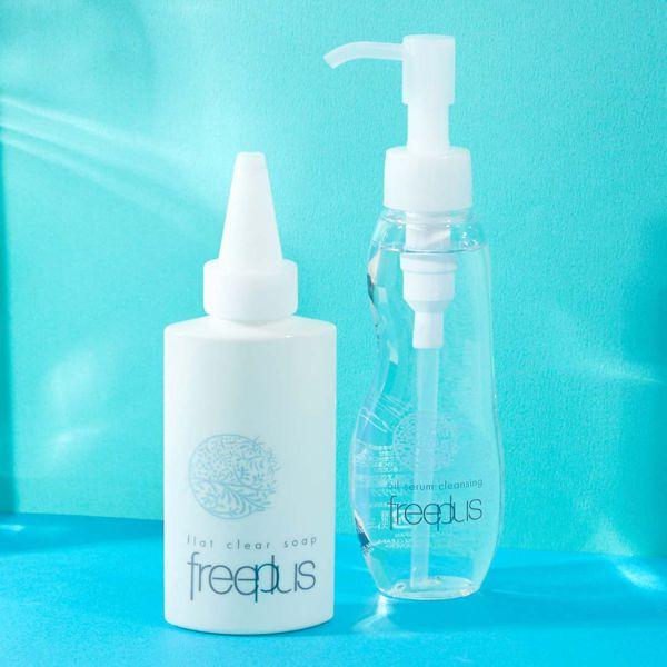 ジェル状洗顔料のフリープラス 『フラットクリアソープa』をご紹介に関する画像1