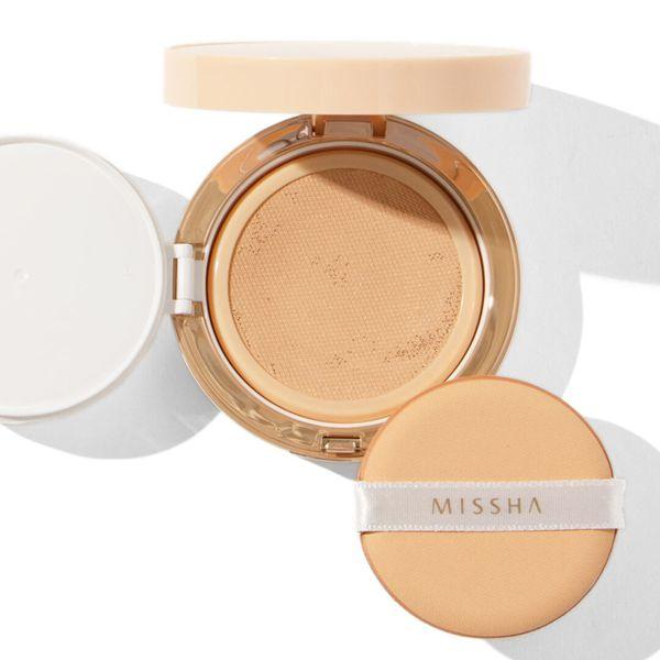 MISSHA(ミシャ)『テンションパクト パーフェクトカバー No.23 自然な肌色』の使用感をレポに関する画像1