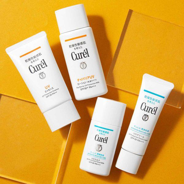 乾燥性敏感肌のためのUVケア。CurelのUVエッセンスをご紹介に関する画像1