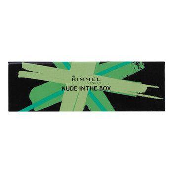 かわいいパケが目を引くアイシャドウパレットRIMMEL(リンメル)『ヌードインザボックス 002』をご紹介に関する画像1