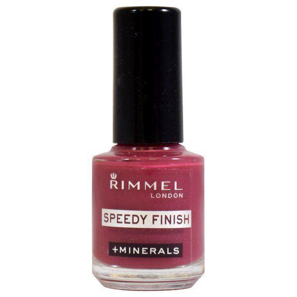 RIMMEL(リンメル)『スピーディ フィニッシュ N 412 スモーキーレッド』の使用感をレポに関する画像1