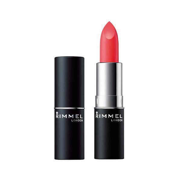 するする唇にカラーがのるRIMMEL(リンメル)『マシュマロルック リップスティック 017 サニーネオンレッド』をご紹介に関する画像1