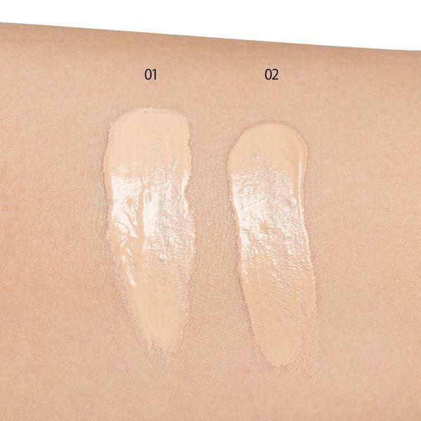 KATE(ケイト)『ウォーターインオイルBB 01 やや明るめの肌』の使用感をレポに関する画像7